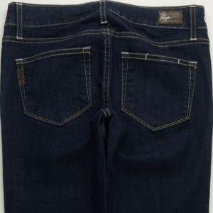 Paige Peg Straight Leg Jeans Women's 24 Dark A269J